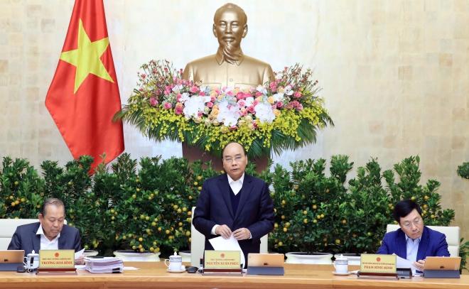 Cuối năm, Thủ tướng Nguyễn Xuân Phúc chủ trì họp Chính phủ tháng 12 2019, cuối năm, chào năm mới 2020, đón năm mới 2020, Chúc mừng năm mới, Chúc mừng năm mới 2020