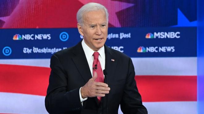 Bầu cử tổng thống Mỹ 2020: Ông Joe Biden dẫn đầu danh sách ứng cử viên đảng Dân chủ