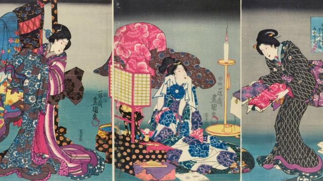 Triển lãm về kimono Nhật Bản: Từ trang phục 'bình dân' đến trang phục thời thượng
