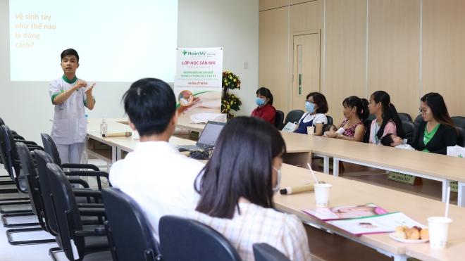 Bệnh viện Hoàn Mỹ Cửu Long tổ chức lớp học Sản Nhi tháng 2