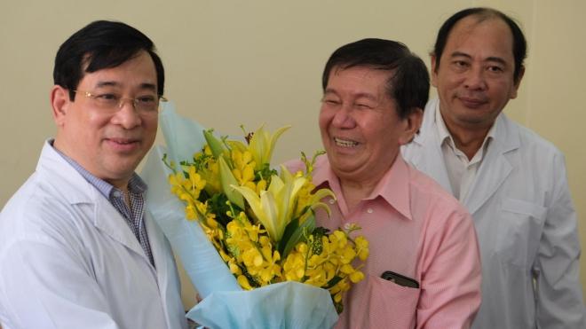Bệnh nhân cao tuổi nhất nhiễm COVID-19 tại Việt Nam xuất viện sau 3 tuần điều trị