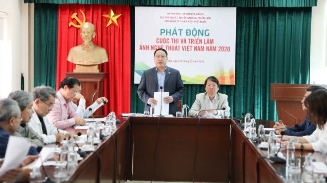 Phát động Cuộc thi và Triển lãm ảnh nghệ thuật Việt Nam năm 2020