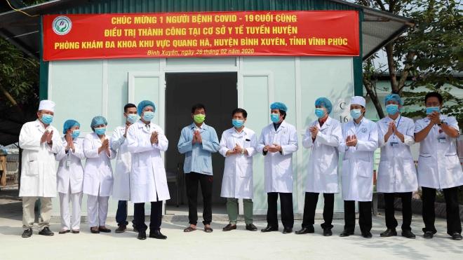 Cập nhật dịch COVID-19: 30 người Việt từ Vũ Hán trở về đã được xuất viện