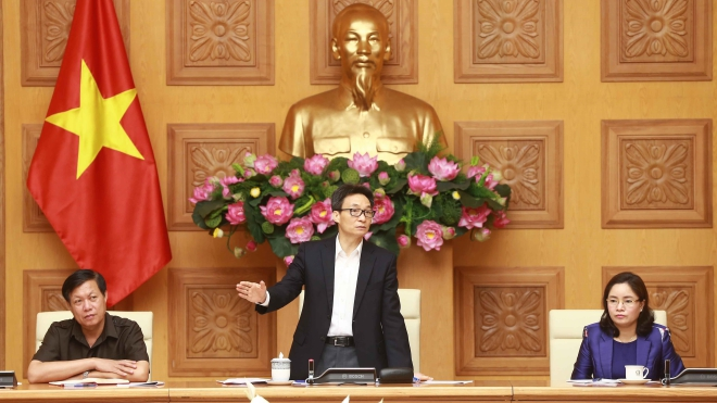 Phó Thủ tướng Vũ Đức Đam: Chủ động đối phó với tình huống xuất hiện những ca nhiễm COVID-19 mới