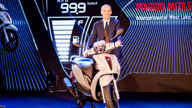 Piaggio đặt cược vào dòng xe cao cấp nhất