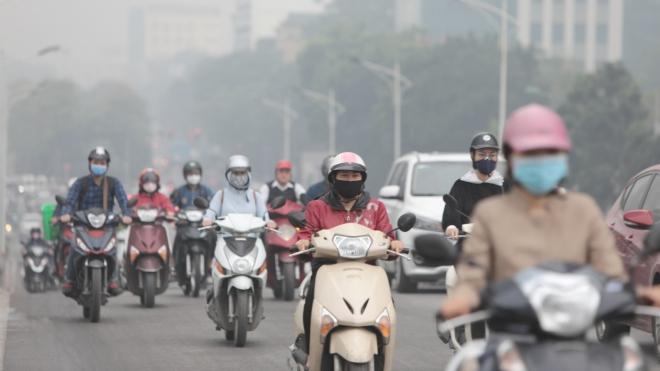 Tháng 3, không khí miền Bắc vẫn trong giai đoạn ô nhiễm cao nhất trong năm
