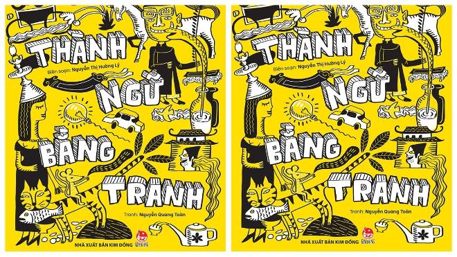 NXB Kim Đồng ra mắt 'từ điển thành ngữ' bằng tranh