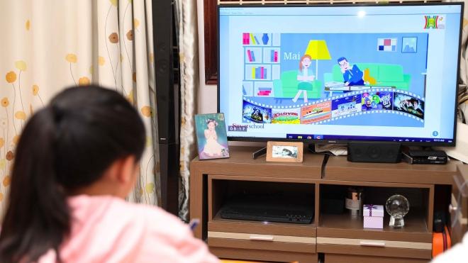 Hà Nội: Triển khai chương trình dạy học trên truyền hình tới nhiều cấp học
