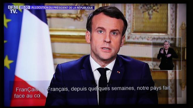 Tổng thống Pháp kêu gọi các nước Eurozone đoàn kết chống dịch COVID-19