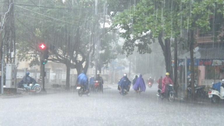 Từ đêm 1 - 4/7, Bắc Bộ và Thanh Hóa có mưa, mưa vừa, có nơi mưa to