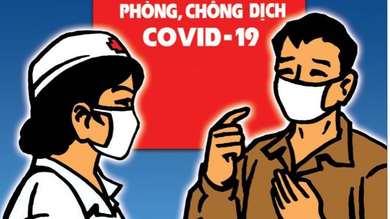 Chống dịch COVID-19: Tranh cổ động khi đất nước cần