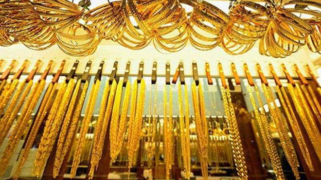 Giá vàng giao dịch quanh mốc 48 triệu đồng/lượng
