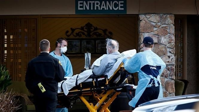 Số ca tử vong tại Mỹ đã vượt con số 4.000 người