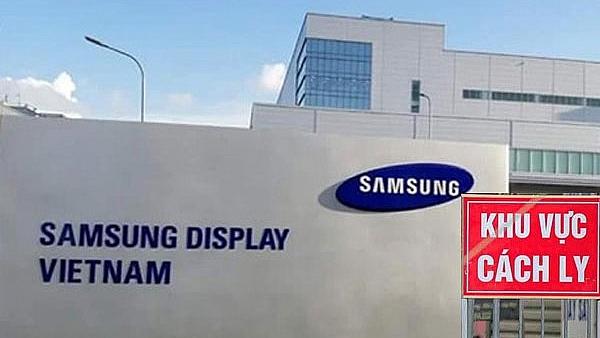 Dịch COVID-19: Bắc Ninh hỗ trợ Công ty Samsung Display các biện pháp chống dịch