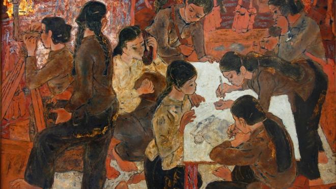 Bảo tàng Mỹ thuật Việt Nam giới thiệu chùm tác phẩm đặc sắc về kháng chiến chống Mỹ