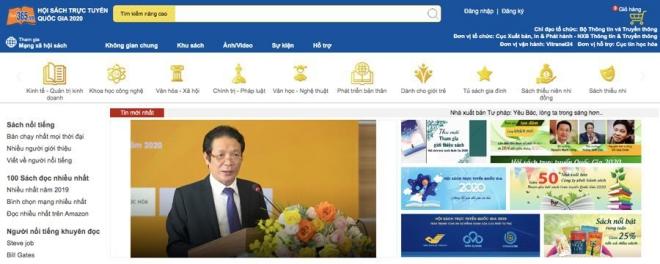 Hội sách trực tuyến quốc gia 2020: Vượt qua nỗi lo dịch bệnh