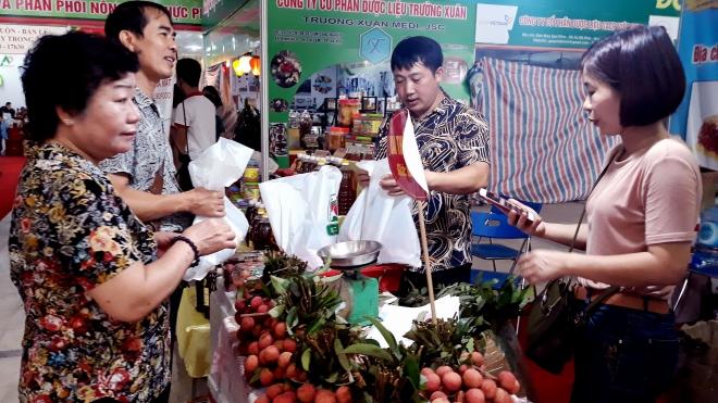 Giới thiệu vải thiều Lục Ngạn Bắc Giang tại Hà Nội