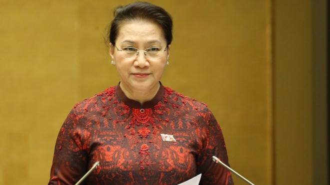 Chủ tịch Quốc hội Nguyễn Thị Kim Ngân được bầu giữ chức Chủ tịch Hội đồng bầu cử quốc gia