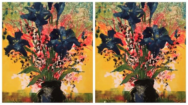 Triển lãm tranh độc bản 'Cảm xúc tháng sáu' của các họa sĩ, nhà báo