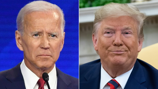 Bầu cử Mỹ 2020: Ứng cử viên Joe Biden tiếp tục vượt Tổng thống Trump trong thăm dò dư luận