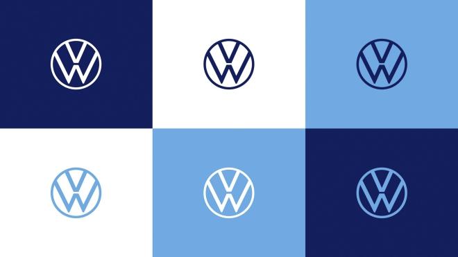 Volkswagen có logo nhận diện mới