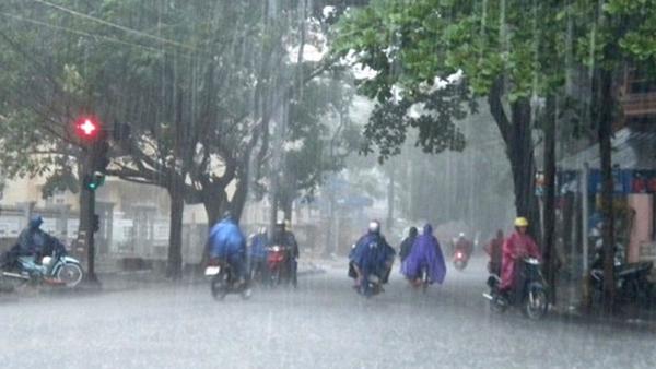 Bắc Bộ ngày nắng, chiều tối và đêm mưa dông, đề phòng thời tiết nguy hiểm