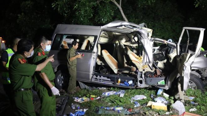 Vụ tai nạn giao thông đặc biệt nghiêm trọng tại Bình Thuận: 8 người đã chết