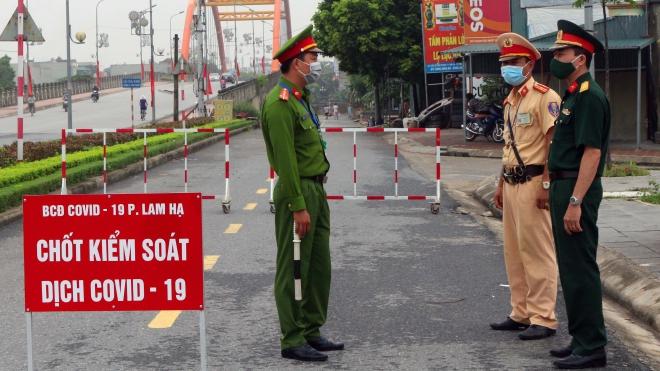Dịch COVID-19: Hà Nam phong tỏa khu vực liên quan bệnh nhân 620