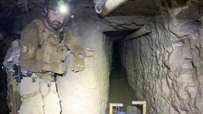 Phát hiện đường hầm buôn ma túy xuyên biên giới Mỹ-Mexico