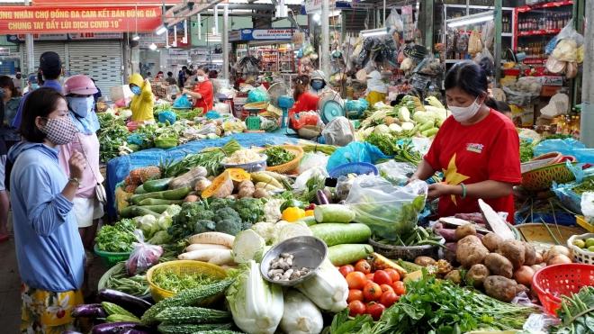 Đà Nẵng: Mỗi hộ gia đình đi chợ 3 ngày/ lần