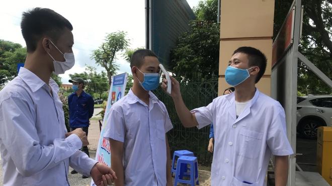 Hải Dương giãn cách xã hội một thôn do ca nghi mắc COVID-19 đang điều trị tại Hà Nội
