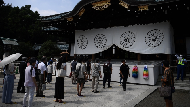 Thủ tướng Nhật Bản gửi đồ lễ viếng đền Yasukuni