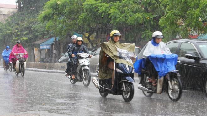 Từ ngày 20-22/8, Bắc Bộ tiếp tục có mưa to, nguy cơ lũ quét và ngập úng