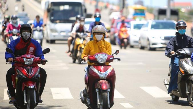 Trung Bộ nắng nóng diện rộng, chỉ số tia UV tại Đà Nẵng ở mức gây hại cao