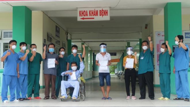 Đà Nẵng thêm 4 bệnh nhân mắc COVID-19 được xuất viện