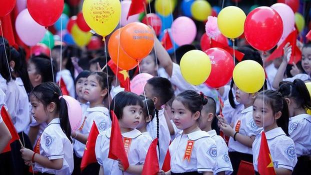 Gần 23 triệu học sinh cả nước khai giảng năm học mới 2020-2021