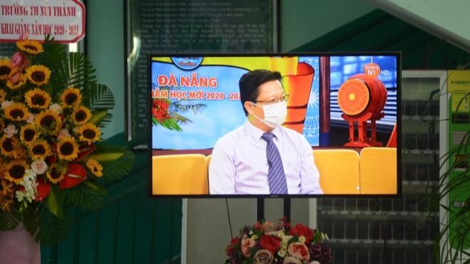 Lễ khai giảng đặc biệt giữa dịch COVID-19 tại Đà Nẵng