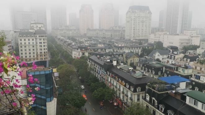 Hà Nội thoát khỏi nhóm 10 thành phố có không khí không tốt cho sức khỏe