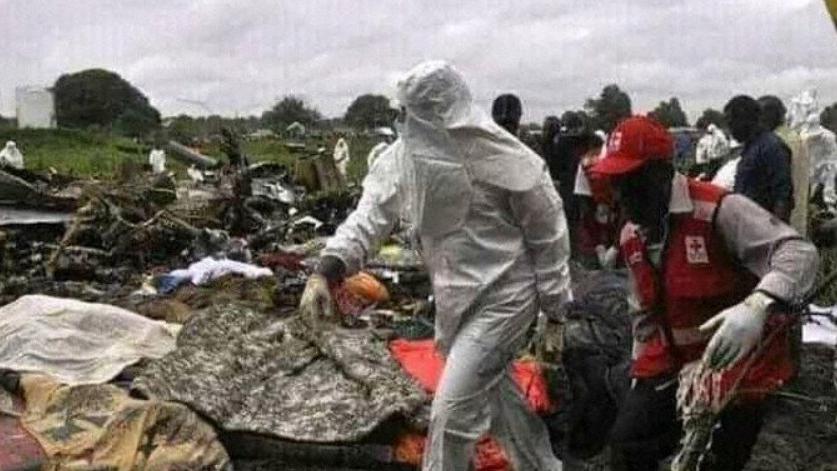 Rơi máy bay tại Nam Sudan, 10 người thiệt mạng