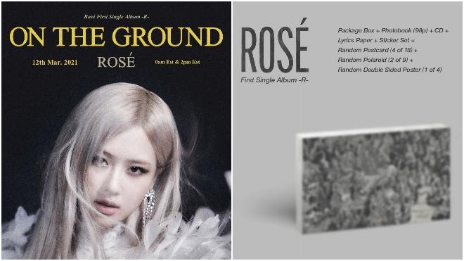Rosé Blackpink khiến fan 'đứng ngồi không yên' khi nhá hàng sản phẩm solo đầu tay