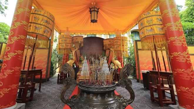 Phục dựng điện Kính Thiên, hoàn trả hồn cốt cho Hoàng thành Thăng Long