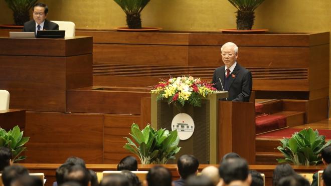 Quốc hội thảo luận các Báo cáo công tác của Chủ tịch nước, Chính phủ