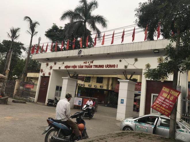 Bệnh viện Tâm thần Trung ương 1, Bệnh viện Tâm thần, Nguyễn Xuân Quý, Bệnh viện Tâm thần Trung ương, Giám đốc Bệnh viện Tâm thần Trung ương I, Vương Văn Tịnh