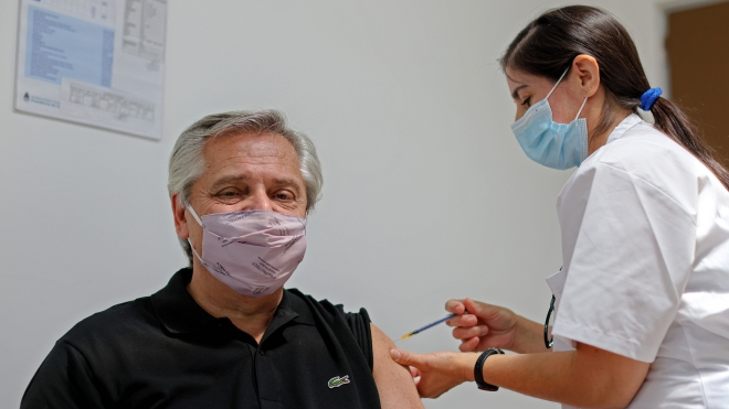 Tổng thống Argentina dương tính với virus SARS-CoV-2