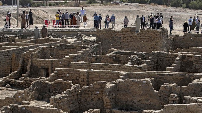Tìm thấy 'Thành phố vàng đã mất' của Pharaoh