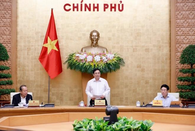 Thủ tướng Phạm Minh Chính chủ trì phiên họp Chính phủ, Thủ tướng Phạm Minh Chính