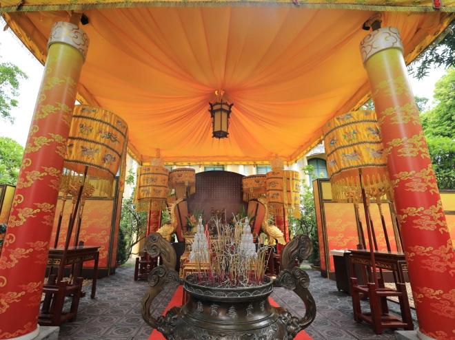Điện Kính Thiên, Phục dựng Điện Kính Thiên, Điện Kính Thiên Hoàng Thành Thang Long, Hoàng Thành Thang Long