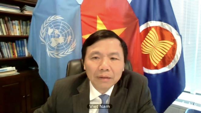 Việt Nam chủ trì phiên họp HĐBA, Họp hội đồng bảo an về tình hình Syria, khủng hoảng kinh tế ở Syria, đại dịch covid-19 ở Syria, Đại sứ Đặng Đình Quý
