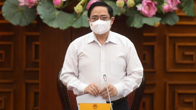Thủ tướng Phạm Minh Chính yêu cầu xem xét nghiêm trách nhiệm của cá nhân, tập thể để lây lan dịch Covid-19 