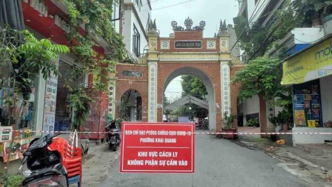 Dịch Covid-19: Vĩnh Yên (Vĩnh Phúc) thực hiện giãn cách xã hội